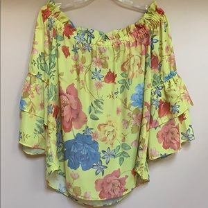 New York and Company Xl floral top